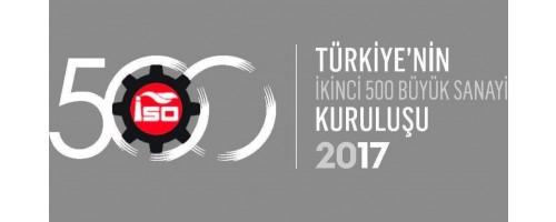 ISO İkinci 500 Araştırması